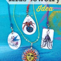 Kids Jewelry Making Idea!