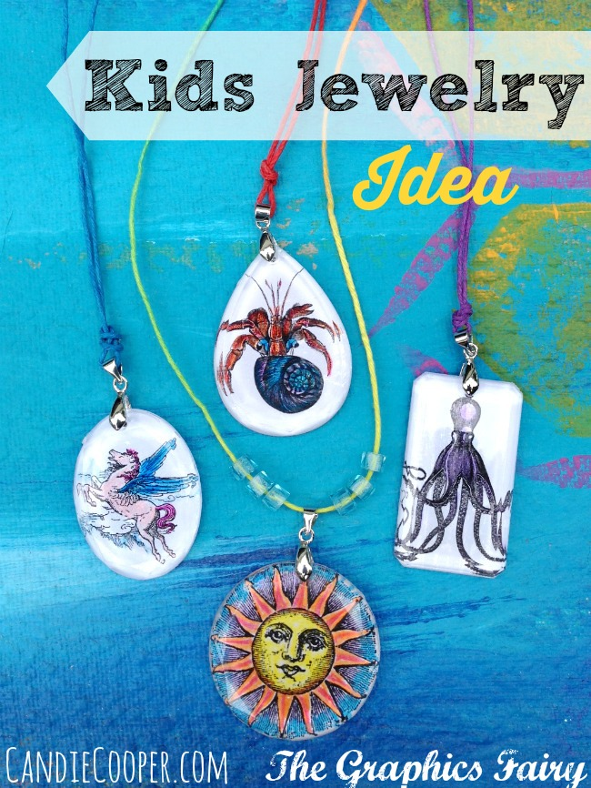 Kids Jewelry Making Idea by Candie Cooper