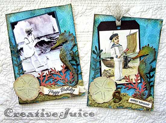 Handmade Nautical Cards - Reader Featured Project