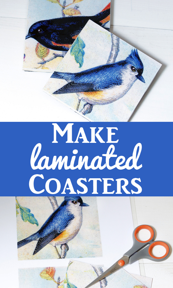 Make Laminated Coasters