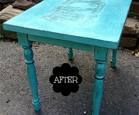 Mason Jar Transfer Table – Reader Featured Project