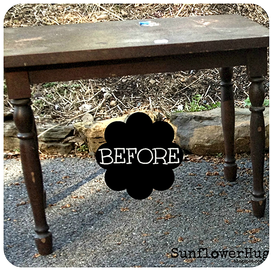 Mason Jar Transfer Table - Reader Featured Project