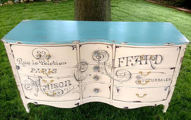 Superieur Paris Painted Dresser 2 (1)