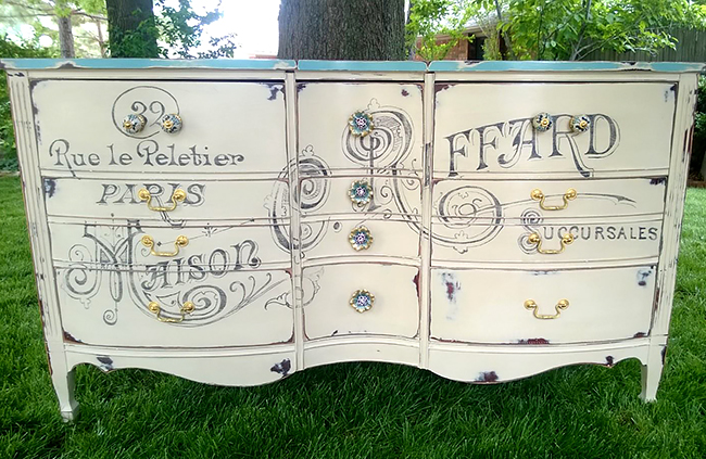 Paris Painted Dresser - Reader Featured Project