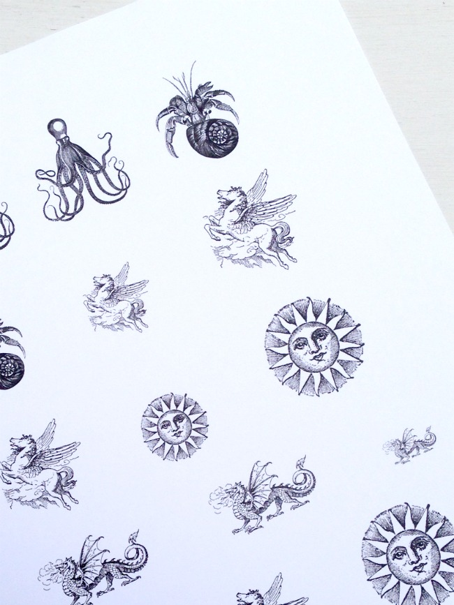 Print Images onto Paper
