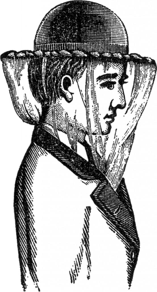 Vintage Beekeeper Image