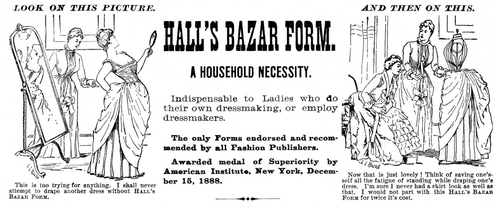 Vintage Dress Form Ad