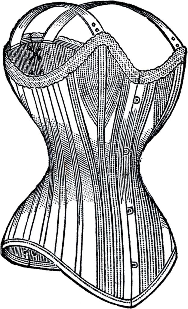 Vintage Ladies Corset Image