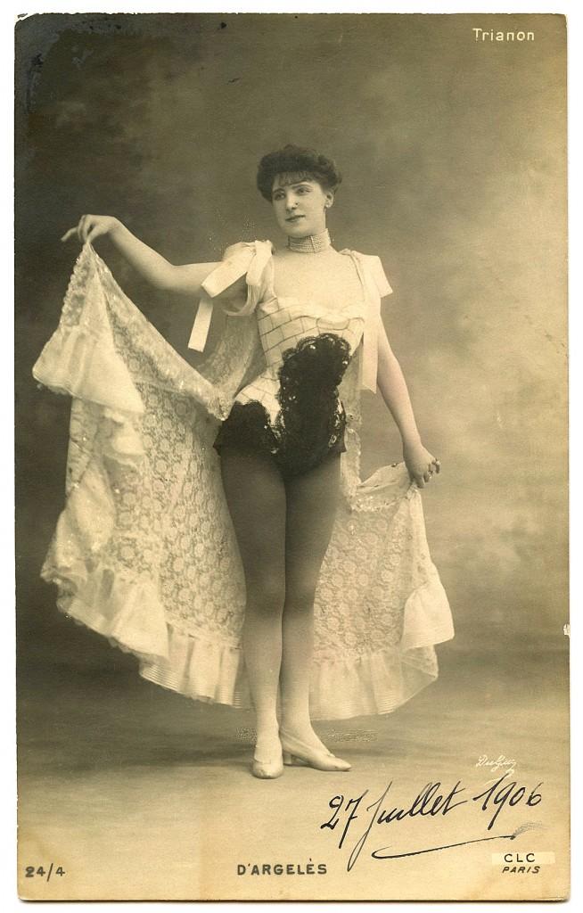 Vintage Showgirl Image