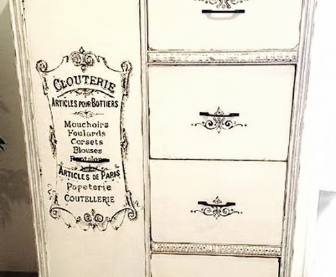 Painted French Armoire – Reader Featured Project