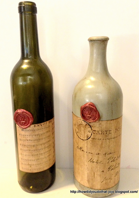 Antique wine bottles reader featured project the for What to do with a wine bottle