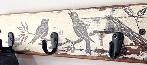 DIY Key Holder with Birds – Reader Featured Project