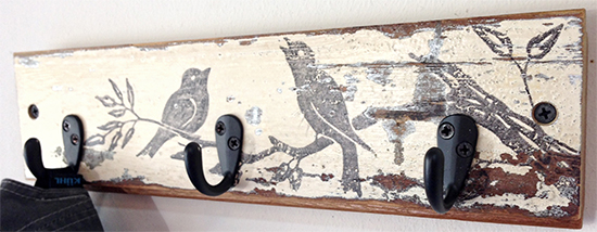 DIY Key Holder with Birds - Reader Featured Project