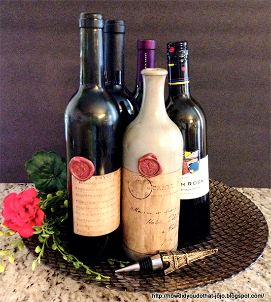 Antique Wine Bottles - Reader Featured Project