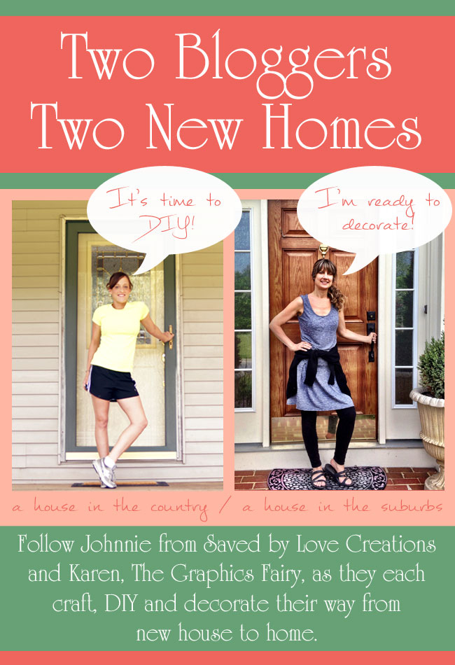 Two Bloggers Two Homes
