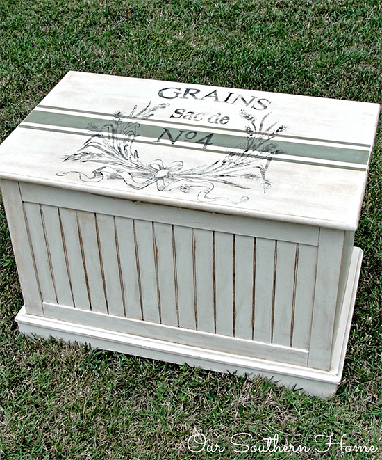Painted Toy Chest - Reader Featured Project
