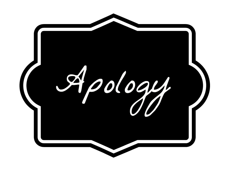 Image result for apology graphic