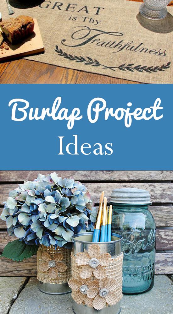 Burlap Project Ideas