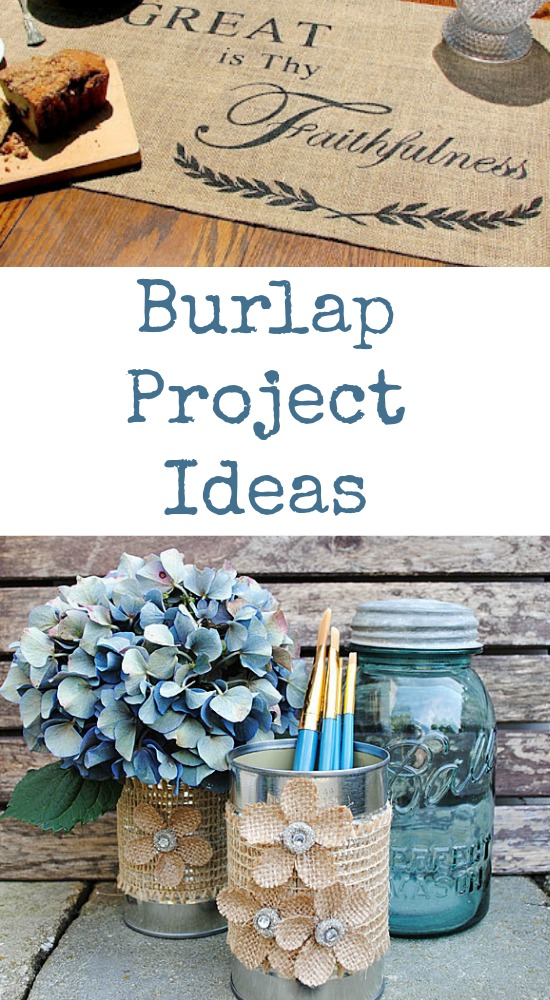 burlap projects 20 burlap pinterest burlap