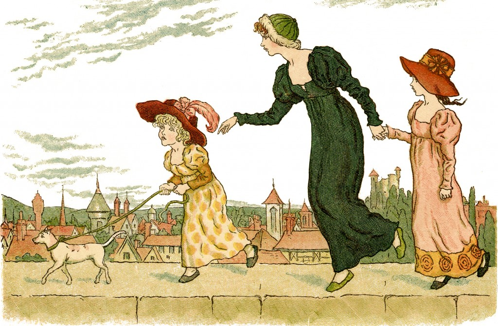Charming Kate Greenaway Image!