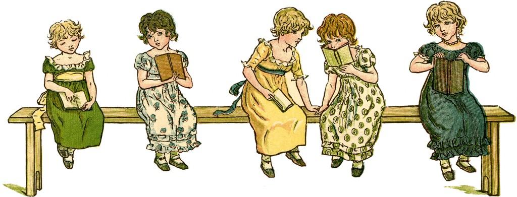 Children Reading Books Picture
