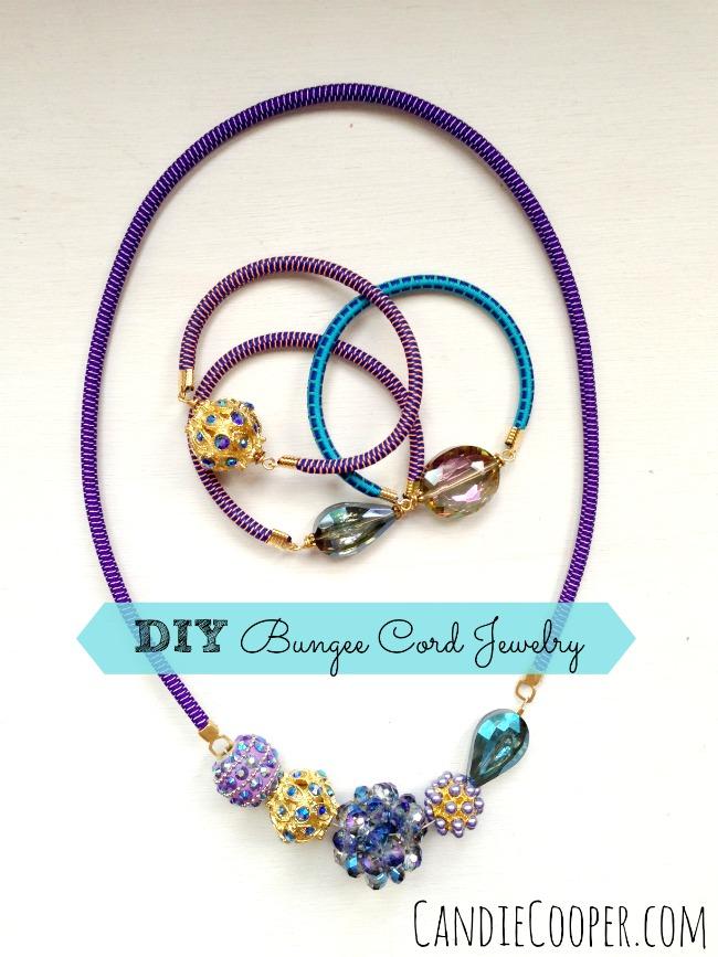 DIY Bungee Cord Jewelry