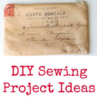 DIY Sewing Project Ideas!