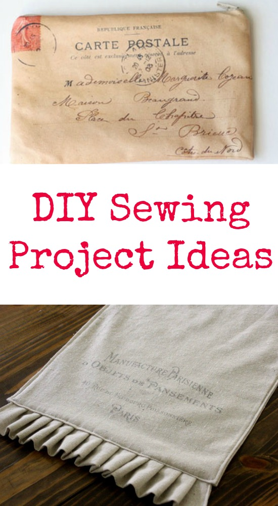 DIY Sewing Project Ideas! - The Graphics Fairy