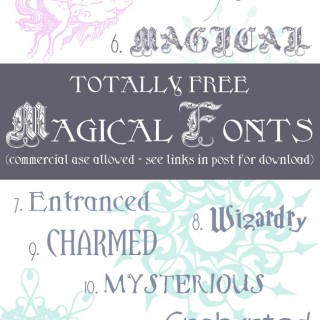 Free Magical Fonts