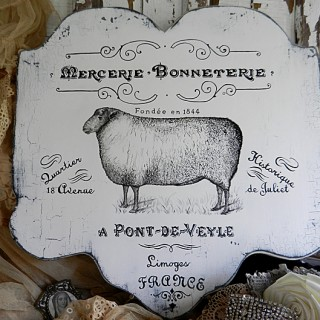 DIY French Farmhouse Sign – Reader Tutorial