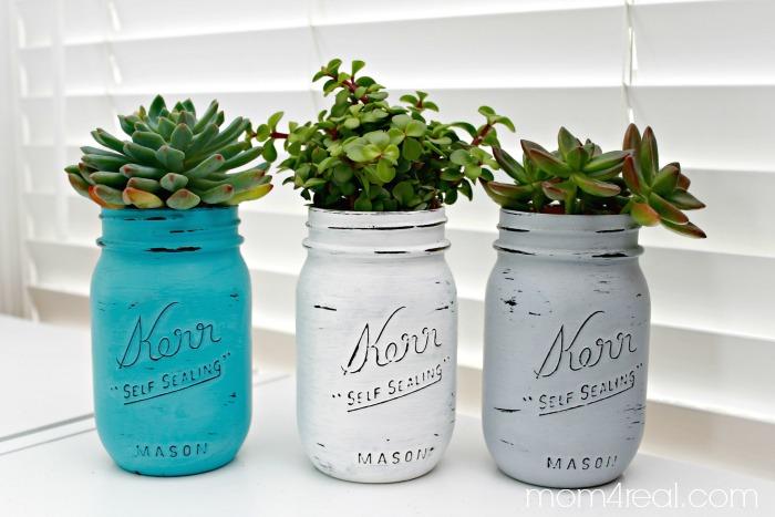 Mason-Jar-Succulents-Planters