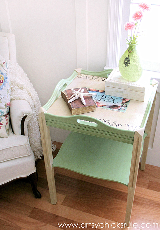 Painted Coastal Table - Reader Featured Project