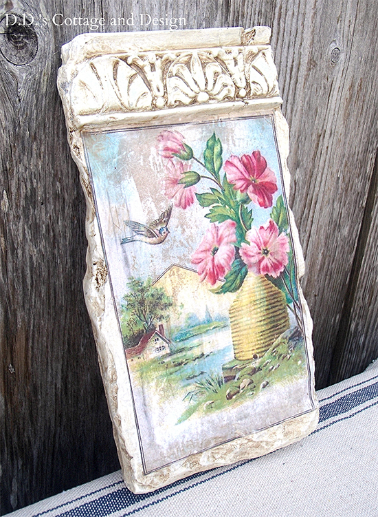 Handmade Cottage Style Sign - Reader Featured Project