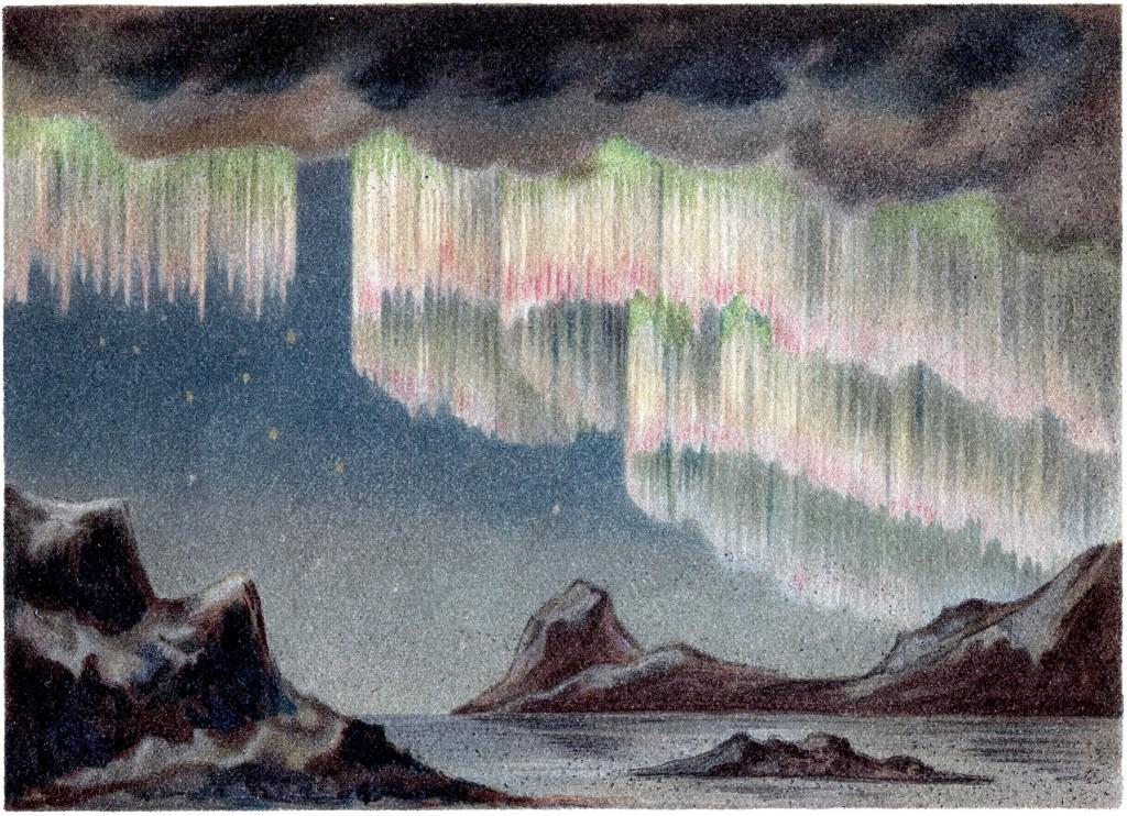 Polar Lights Clip Art