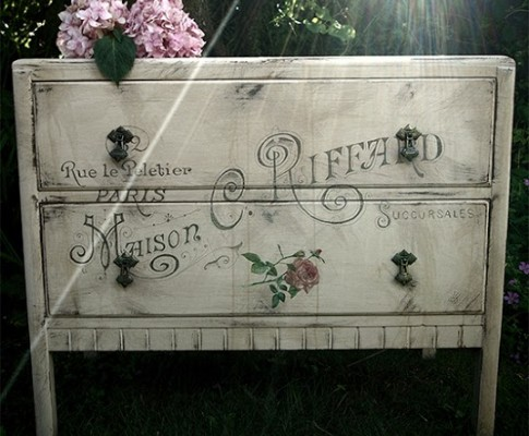 Shabby French Painted Dresser – Reader Featured Project
