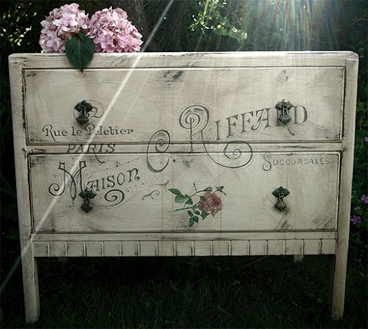 Shabby French Painted Dresser - Reader Featured Project