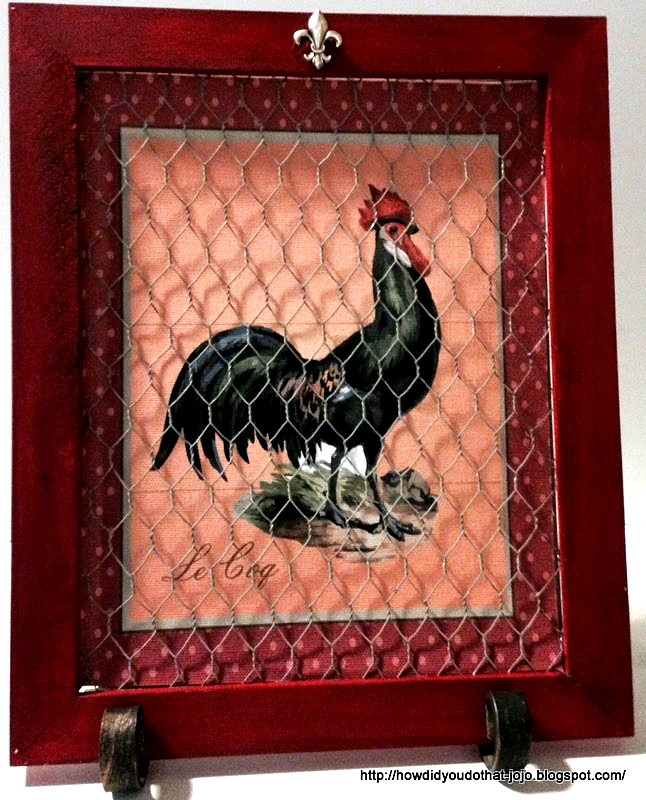 Rooster Wall Decor  Reader Featured Project The