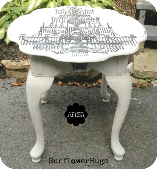 Painted Chandelier Table - Reader Featured Project