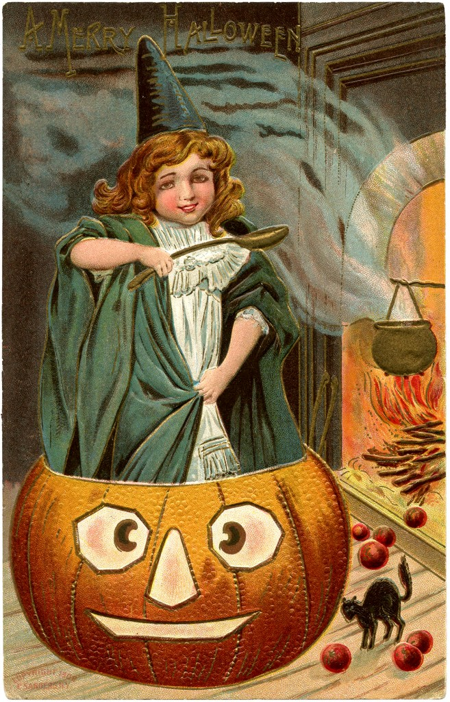 1000 Images About Retro Vintage On Pinterest: Vintage Halloween Picture
