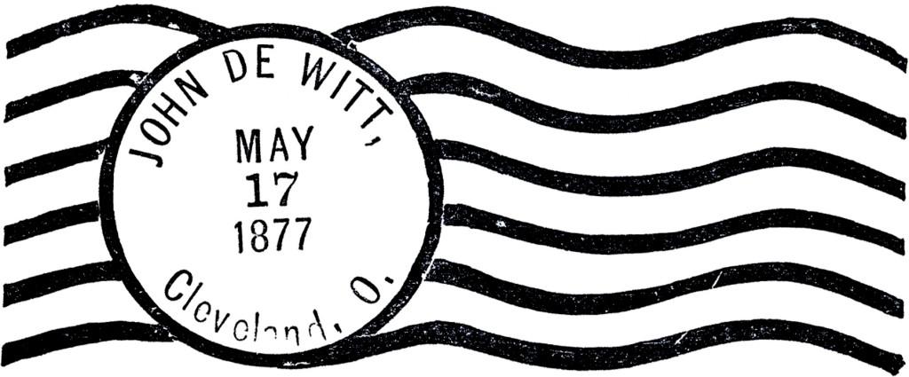 Vintage Postmark Image