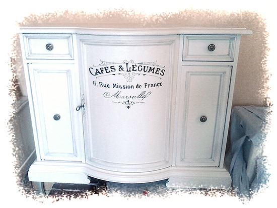 Painted French Console - Reader Featured Project