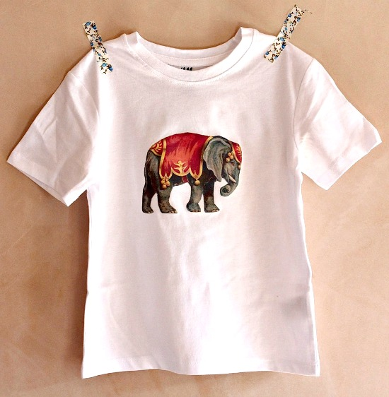 Circus Elephant T-Shirt - Reader Featured Project
