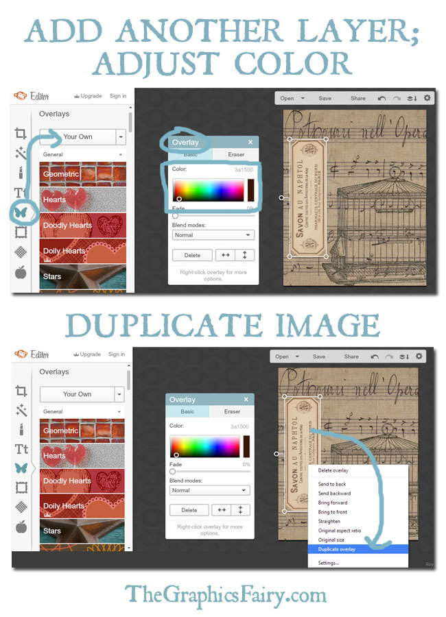 How to Create a Digital Collage with PicMonkey // The Graphics Fairy