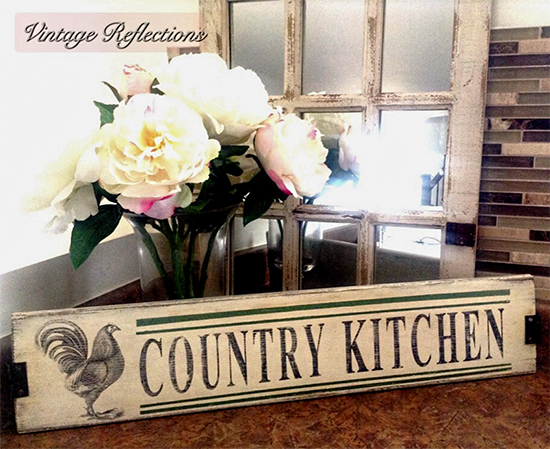 Country Kitchen Sign Reader Featured Project
