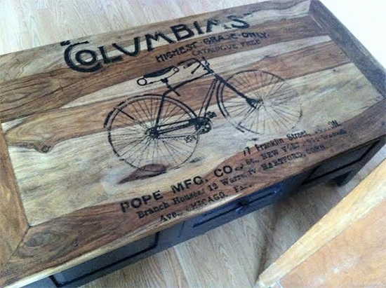 Bicycle Table - Reader Featured Project