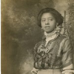 Beautiful Black Edwardian Lady – Rare Old Photo!