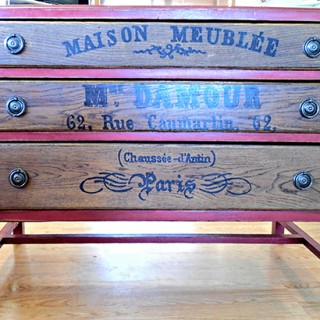 Rustic Red Dresser - Reader Featured Project