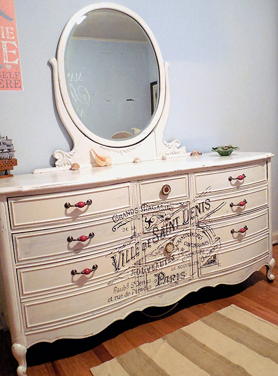 French Painted Dresser - Reader Featured Project