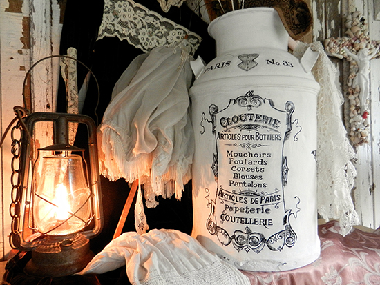French Milk Can - Reader Featured Project