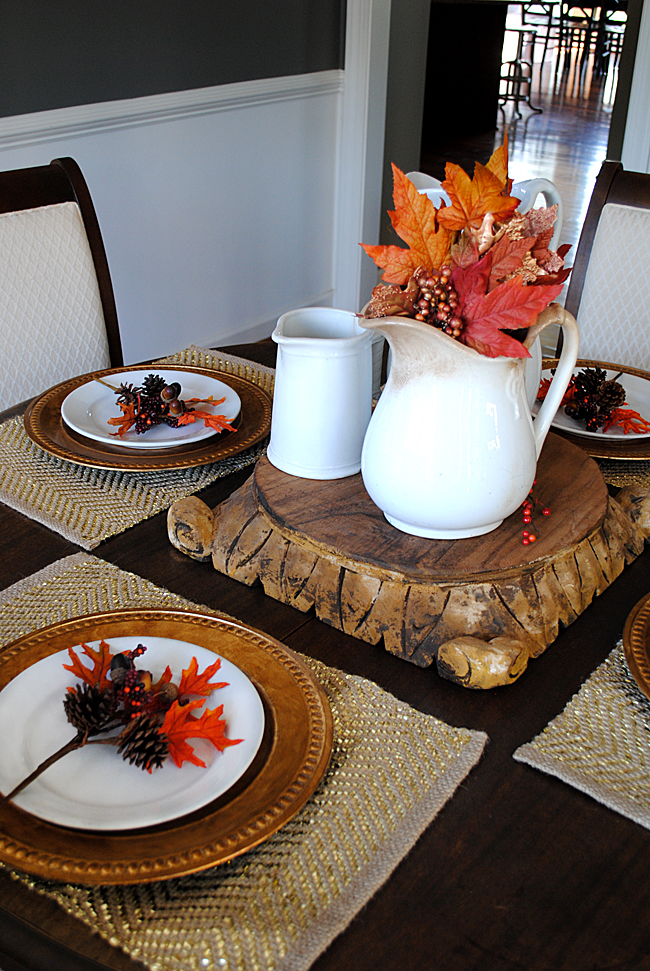 Fall Home Tour Dining Room